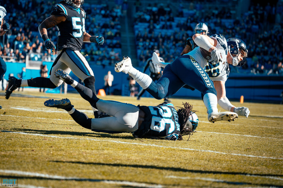 Donte Jackson's Confidence Outweighing His Play