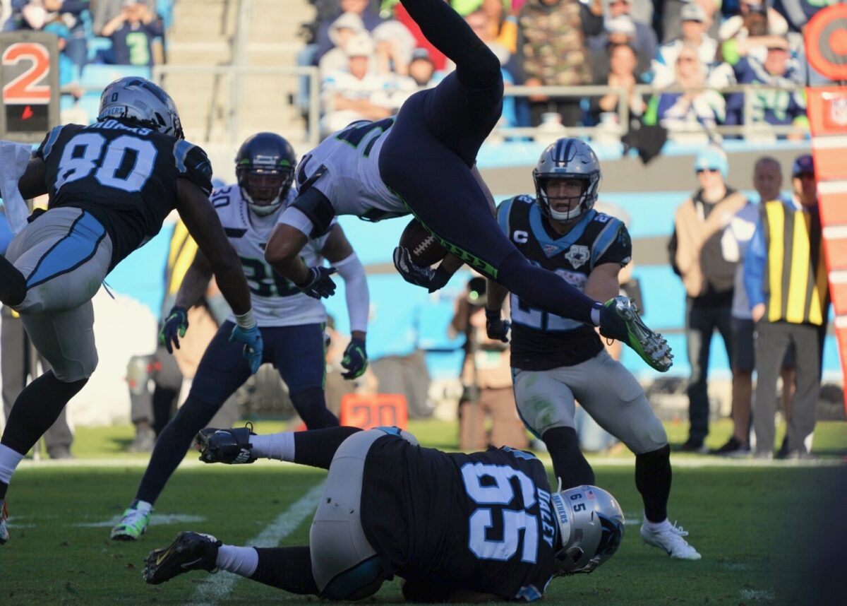 Six Plays That Mattered As The Seahawks Beat The Panthers