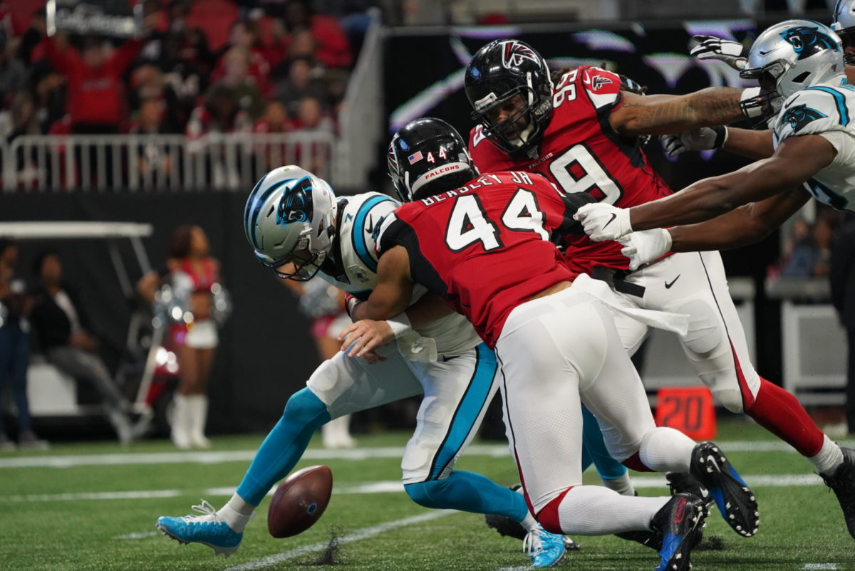 Four Plays That Mattered As The Falcons Beat The Panthers