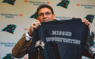 Ron Rivera's Exit From The Panthers Was Different