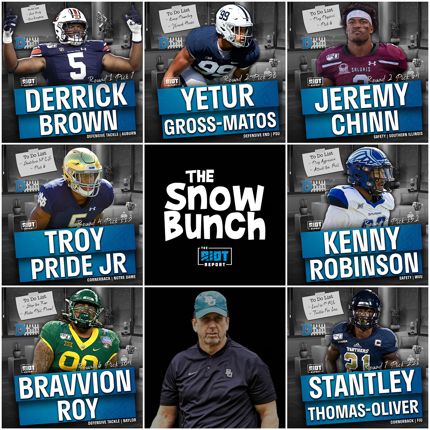 Snow Storm: Takeaways From The Panthers Record-Setting 2020 Defensive Draft