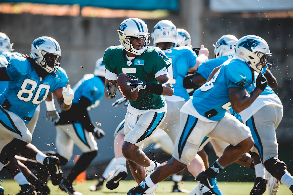 Dispatches From Panthers Training Camp: Peanut Punchin'