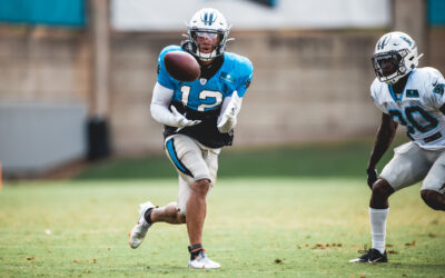 1-on-1 With DJ Moore: Route Running, Rivalry With Donte Jackson, Steve Smith & More