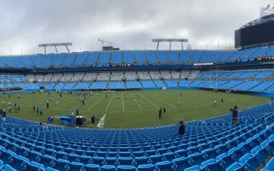 Dispatches From Panthers Training Camp: A Scrimmage In The Stadium