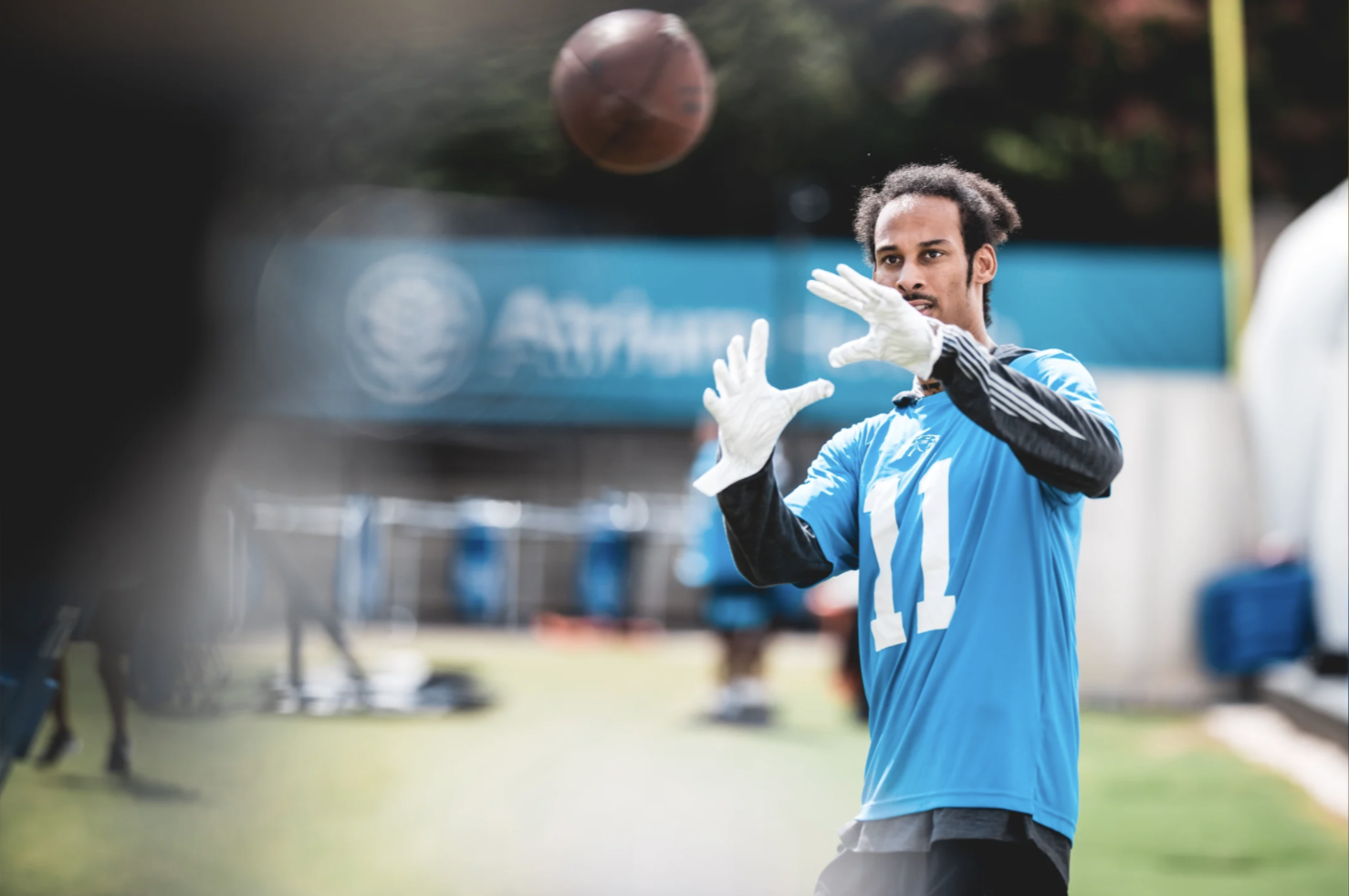 Robby Anderson Returns And Other Notes From Day One Of Panthers' Minicamp