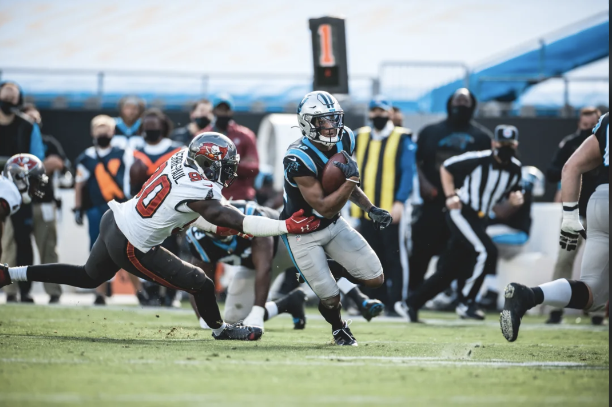 Anatomy Of A Touchdown: How Joe Brady Schemed DJ Moore To An Easy Touchdown