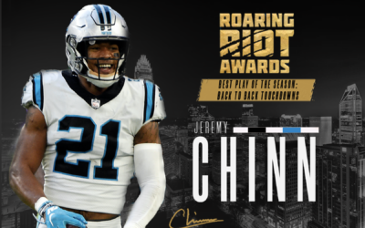 Jeremy Chinn's Back-to-Back Scores Voted Roaring Riot's Play of The Year