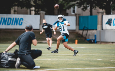 How Panthers WR Micah Simon Ran His Way From A 9-to-5 To An NFL Roster