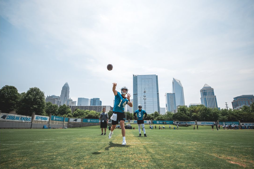 Sam Darnold Going With The Flow As He Learns Panthers' System