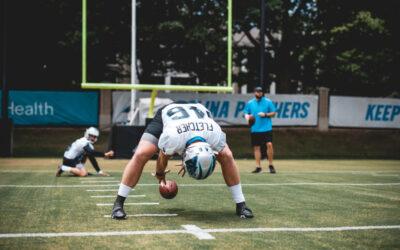 Panthers' Thomas Fletcher Explains The Art Of The Long Snap