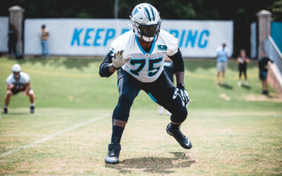 """""""Jack of all trades"""" Cameron Erving Focused On Becoming Latest Panthers Left Tackle"""