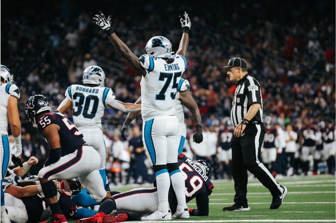 Mini Bye Gives Panthers Opportunity For Offensive Line Reshuffle