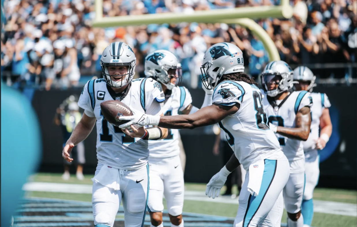 Darnold, Panthers defense lead the way in 19-14 victory over Jets